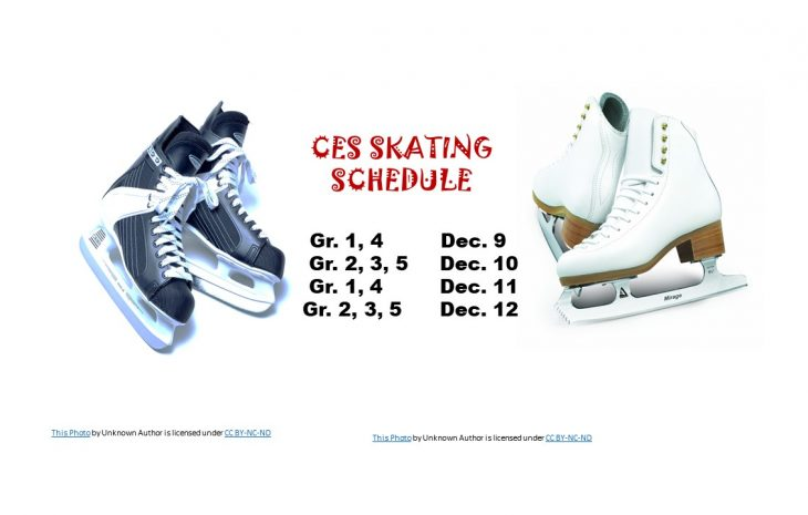 CES Skating Schedule